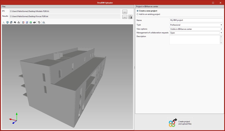 StruBIM Uploader. Modelli strutturali compatibili